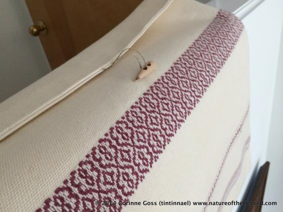 A woven bag