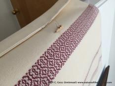 Finished bag detail
